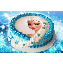 Creatively Crafted Princess Cake by Sweet Kiss